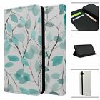 Phone Flip Wallet Case Cover Nature Leaves Print - S10533