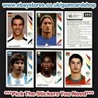 Panini World Cup 2006 Stickers (200 to 299) Select the stickers You Need