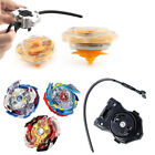 6 X GYROSCOPE SPINNER KIDS FUN TOY GAME LAUNCHER BEYBLADE BATTLE FIGHTING METAL