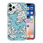 Pretty Flower Pattern TPU Back Case Cover For Mobile Phone - S10156