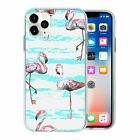 Flamingo Bird Pattern TPU Back Case Cover For Mobile Phone - S10023
