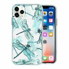 Silicone Phone Case Back Cover Dragonfly Insect Pattern - S10011