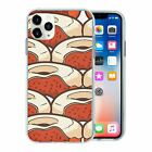 Food Donut Pattern TPU Back Case Cover For Mobile Phone - S10496