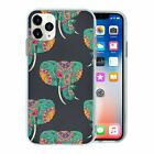 Elephant Pattern TPU Back Case Cover For Mobile Phone - S10476