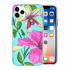 Pretty Flower Pattern TPU Back Case Cover For Mobile Phone - S10140