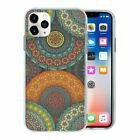 Silicone Phone Case Back Cover Pretty Ethnic Pattern - S10133