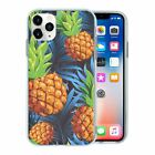 Silicone Phone Case Back Cover Pineapple Fruit Pattern - S10131