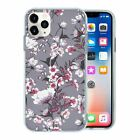 Silicone Phone Case Back Cover Pretty Flower Pattern - S10164