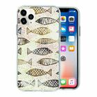 Silicone Phone Case Back Cover Fish Print Pattern - S10038