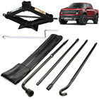 Hand-held Spare Tire Tool Lug Wrench Scissor Jack w/ Handle For 04-14 Ford F-150