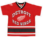 Detroit Red Wings NHL Boys Youth Short Sleeve V-Neck Knit Shirt, Red $9.99 USD on eBay