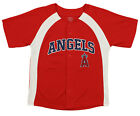 Outerstuff MLB Youth Boys Los Angeles Angels Blank Baseball Jersey, Red on Ebay