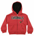 "Outerstuff NFL Kids Arizona Cardinals ""Stated"" Full Zip Hoodie, Red $24.99 USD on eBay"