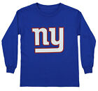 Outerstuff NFL Youth New York Giants Long Sleeve Team Logo Tee $14.99 USD on eBay