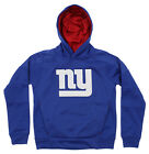OuterStuff NFL Youth New York Giants Mach Speed Pullover Hoodie, Blue $34.99 USD on eBay