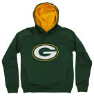 OuterStuff NFL Youth Green Bay Packers Mach Speed Pullover Hoodie, Green $34.99 USD on eBay