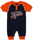 "Majestic MLB Infant Detroit Tigers ""Game Time"" Coverall on Ebay"