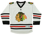 Reebok NHL Youth Chicago Blackhawks Team Replica Jersey, White $24.95 USD on eBay