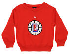 Adidas NBA Kids Los Angeles Clippers Fleece Crewneck Pullover Sweater, Red on eBay