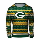 Forever Collectibles NFL Men's Hanukkah Green Bay Packers Ugly Crew Neck Sweater on eBay