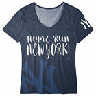 FOCO MLB Women's New York Yankees Home Run V-Neck Tee on Ebay