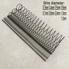 0.3~1.2mm Wire Dia. Compression Pressure Springs 2.0mm~20mm OD 300mm Long Spring