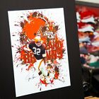 Cleveland Browns - Jim Brown #32 - Contemporary Art on eBay