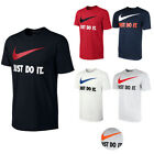 Nike Mens Active Wear Just Do It Swoosh Graphic Athletic Workout Gym T Shirt