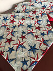 Внешний вид - 4th of July Red, White & Blue Texas Stars Cotton Table Runner by ThemeRunners