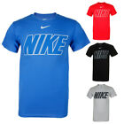 Nike Men's Short Sleeve Logo Graphic Crew Neck Active T-Shirt image