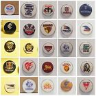 GOLF BALL MARKERS (LARGE 25MM) GEELONG, ST KILDA,,WEST COAST,+ ADD A HAT CLIP