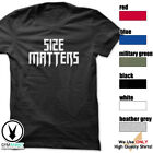 Size Matters Gym Rabbit T-Shirt Workout BodyBuilding Fitness Motivation Tee F293 image