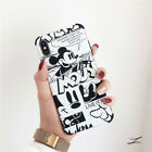 Black and White Mickey Mouse Shockproof Hard PC Case iPhone 6 7 8 X XS XR Max