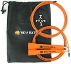 WOD Nation Speed Jump Rope - Blazing Fast Jumping Ropes - Endurance Workout image