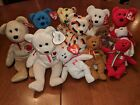 State and Country TY Beanie Babies Lot of 12