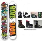 "NEW VIVE ""TAG"" SNOWBOARD, BINDINGS, BOOTS PACKAGE - 151cm"