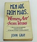 MEN ARE FROM MARS WOMEN ARE FROM VENUS   paperback