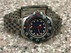 VINTAGE 1980s LDS TAG HEUER REF 370.508 FOMULA 1 RED BLUE DIVER WATCH