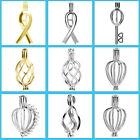 MERZIEs Sterling or 14kgf  Pearl Cage U PICK Ribbon Key twist Drop Balloon - USA