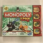 New  Hasbro Monopoly Junior Board Game - Fun Family Kids Ages 5+ (2017 Version)