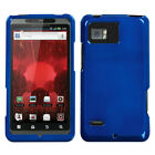 For Motorola Droid Bionic XT875 Rigid Plastic Hard Snap-On Case Phone Cover