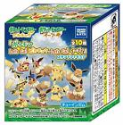 Pokemon Lets Go! Pikachu Lets Go! Evee Stand figure Candy toy complete 10pcs F/S