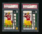 AARON RODGERS  2 CARD LOT  PSA 10 GEM MINT  GREEN BAY PACKERS  #16