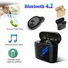 Earphone Bluetooth Earbud In Ear Wireless Headset For Android iPhone X 7 8 Plus