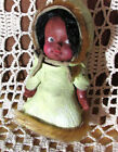 """Eegee Native American Eskimo Inuit Girl 1966 Vintage 4"""" Tall Leather Fur Outfit"""