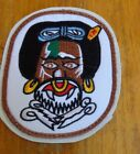 USAF PATCH, 80TH FIGHTER SQUADRON, mounted on vinyl with hook loop fastener