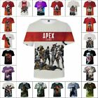 NEW APEX LEGENDS GAMING 3D T SHIRT ADULT KIDS COSPLAY HIGH QUALITY PRINTED TEE