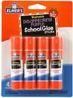 Elmers 4 Pack Washable Disappearing Purple Glue Stick Lot Of 45 School Daycare
