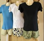 MATERNITY WEAR SHORTS ~~ Set of THREE PAIR !! NEW w/ Tags !! Green ColorFamily