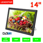 14'' Digital Television DVB-T/T2 Portable TV HD 1080P HDMI Home Car Video Player